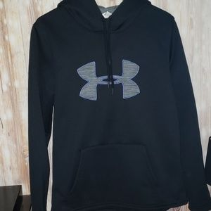 Under Armour Black Cold Gear Hoodie